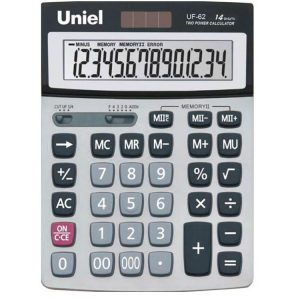 62 Калькулятор Uniel UF-62 (14 разр)