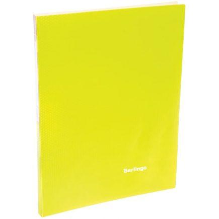 Папка 20 файлов Berlingo неоновая желтая, AVp_20803