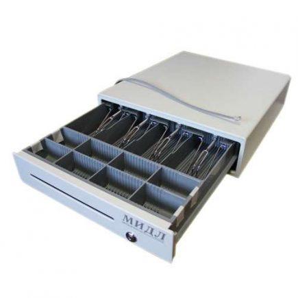 Денежный ящик Мидл 2.0-КО М серый