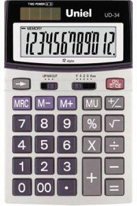 Калькулятор Uniel UD-34 (12 разр)
