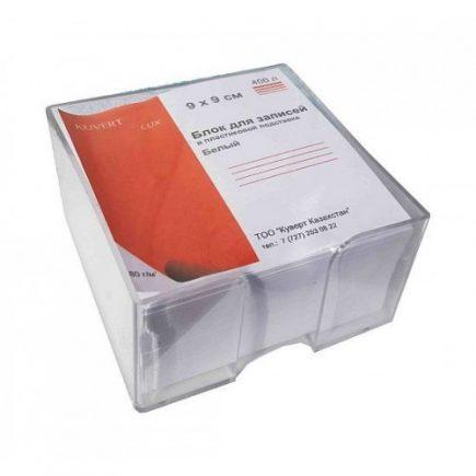 Блок для записей 9-9-5 в боксе Kuvert 80гр