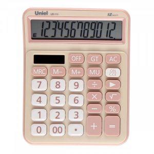 113CR Калькулятор Uniel UD-113CR кремовый (12 разр)