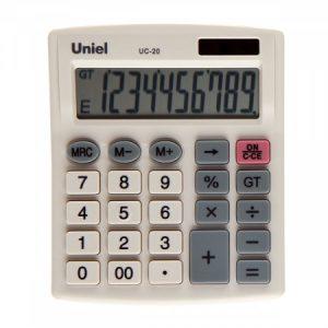 20 Калькулятор Uniel UC-20 (10 разр)