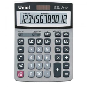 62 Калькулятор Uniel UD-62 (12 разр)
